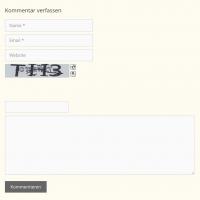 Plugin BotDetect CAPTCHA - Beispiel