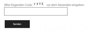 Plugin Really Simple CAPTCHA - Beispiel