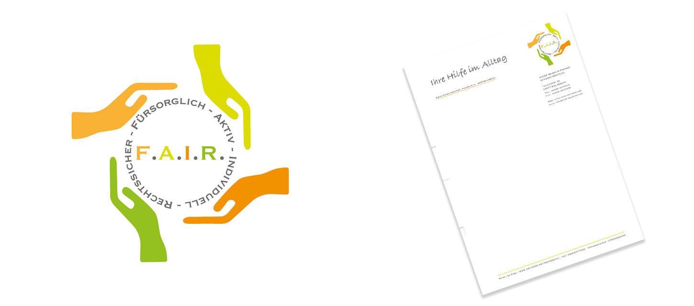Logo Entwicklung und Anwendung