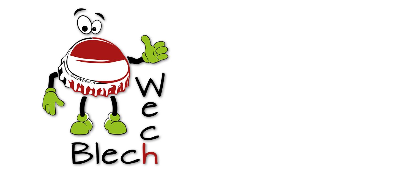 BlechWech - Logo für den guten Zweck