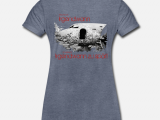 T-Shirt mit exklusivem Druck